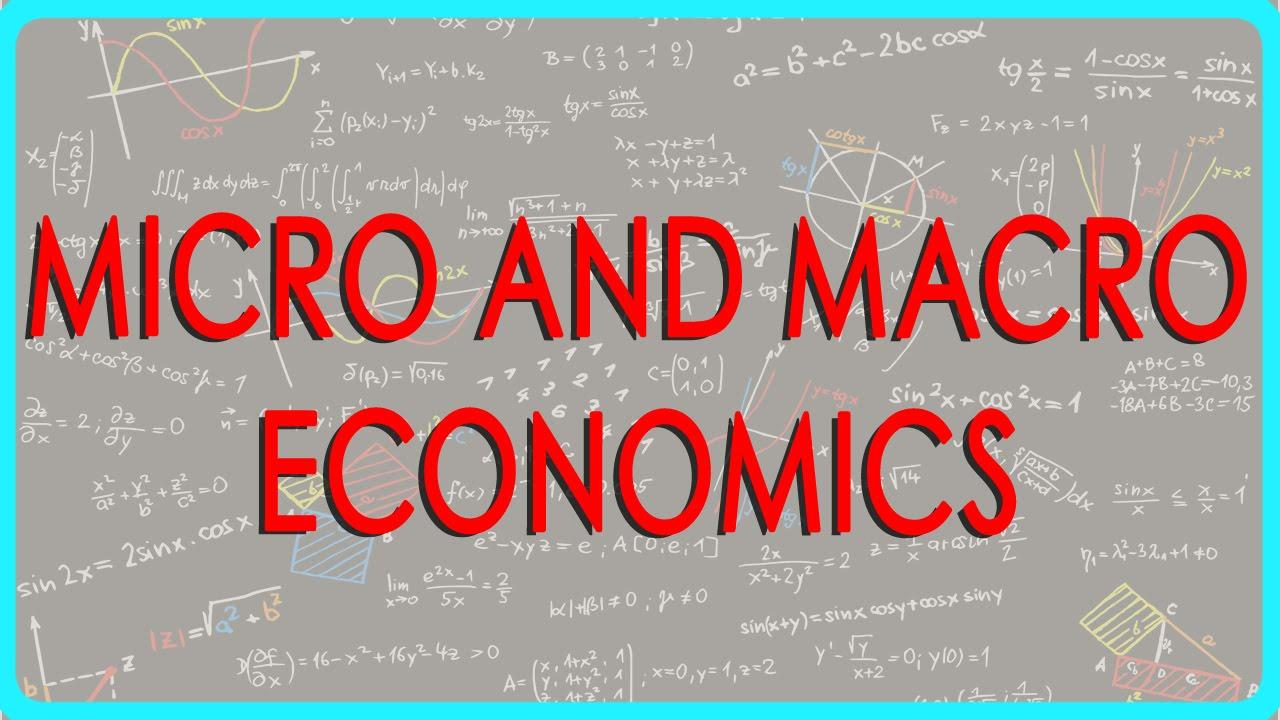 Sistem Ekonomi Makro dan Ekonomi Mikro