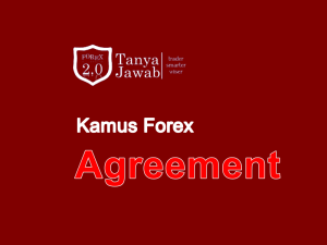 Kamus Forex Agreement TanyaJawabForex